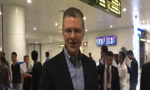 New US ambassador arrives in Hanoi
