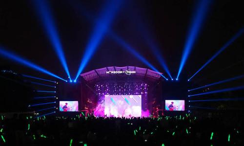Hanoi's biggest annual music festival rocks the Imperial Citadel