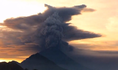 Indonesia raises Bali volcano alert to highest level