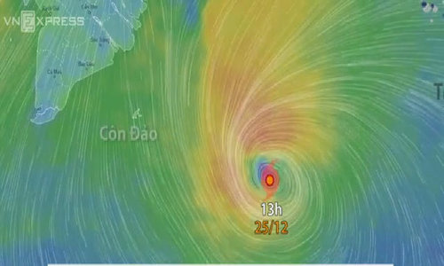Deadly typhoon Tembin weakens, but Vietnam remains wary