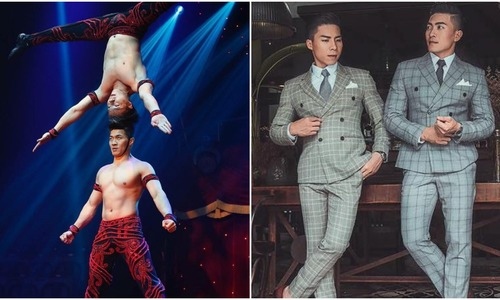 Meet the Vietnamese brothers who stunned British talent show with gravity-defying act