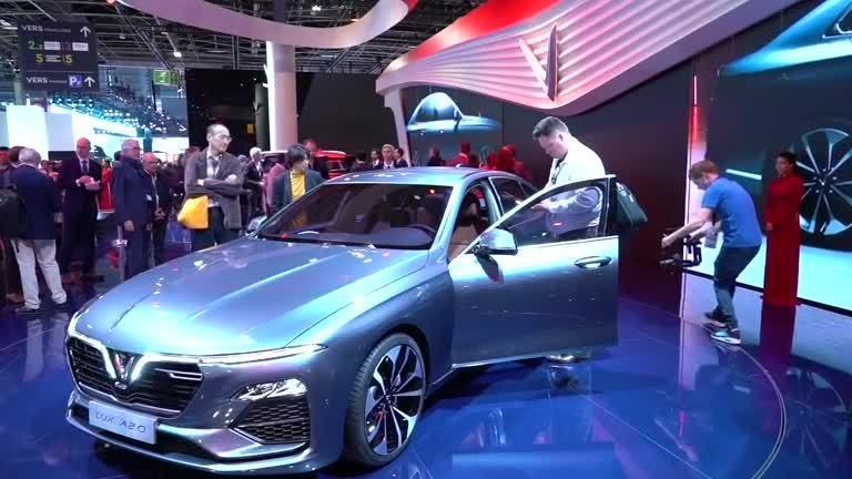 Vietnam S First Domestic Car Manufacturer Bets At Paris Motor Show Vnexpress International
