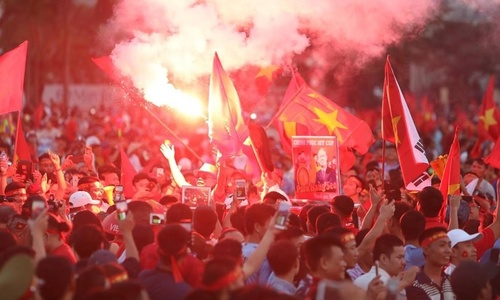 Fans gear up ahead of AFF Cup semifinal return match