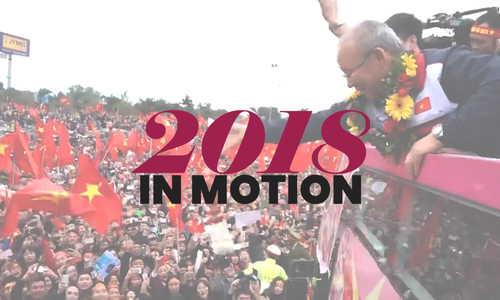 Watch the year in motion: 2018