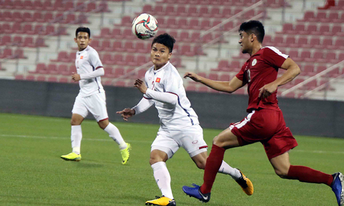 Watch Quang Hai's stunning opening goal in the friendly match