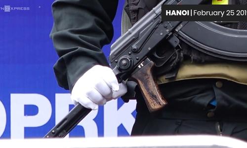 Hanoi security on high alert days before Trump-Kim summit