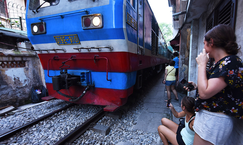 Hanoi's Train Street a source of endless fascination