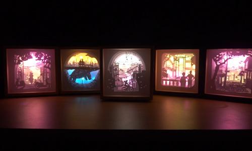 Hanoi artist makes enchanting 3D Old Quarter lightboxes