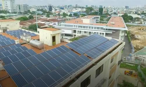 Saigon university uses solar power - VnExpress International