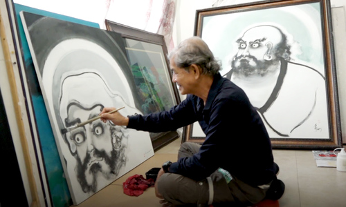 Saigon artist goes to town on the Buddha