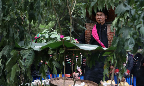 'Gods of forest' worshipping ritual of Pu Peo ethnic group in Ha Giang