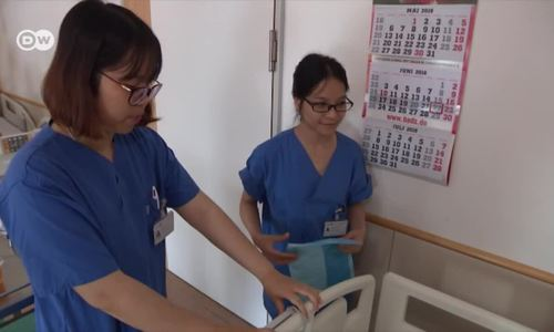 Germany trains nurses from Vietnam