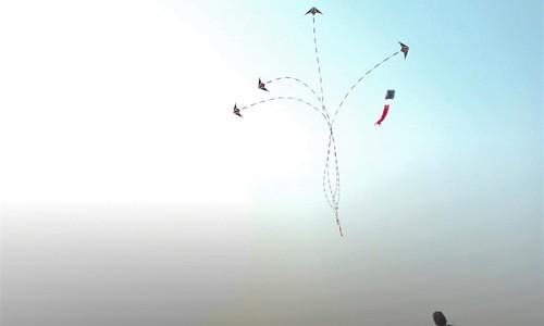 A Vietnamese tako kichi takes flying kites to new highs
