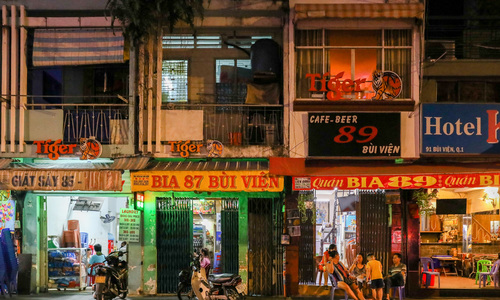 Vendors on Saigon's most popular street yearn to have the crowds back