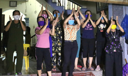 Residents cheer as Hanoi village comes out of month-long isolation