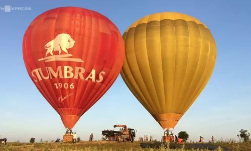 Vietnam southern beach town to launch hot air balloon tour