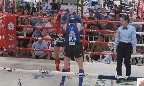 Female Muay Thai fighter tells athletic's journey to world championship
