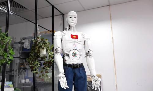 Vietnam introduces first robotic citizen