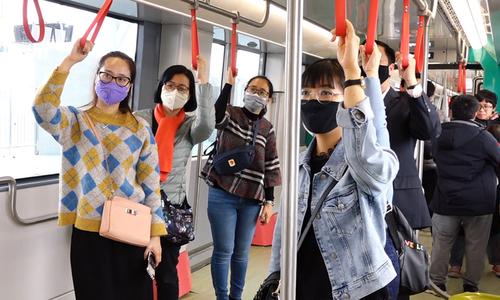 Public opinion on trial run of Hanoi's second metro line