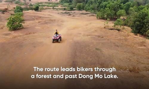 Quad biking sets the pulse racing in Hanoi