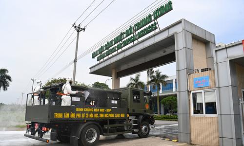 Inside Hanoi's frontline hospital turned Covid-19 hotspot