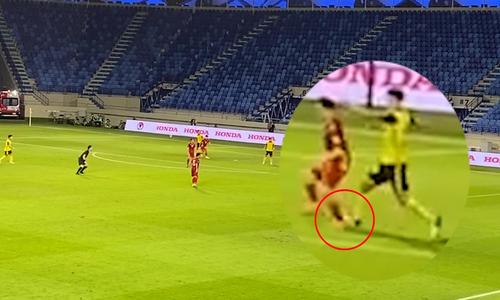 Video footage showcasing why Vietnam deserve penalty kick