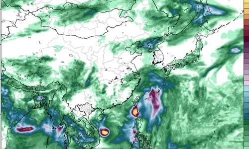 Storm Conson rainfall forecast