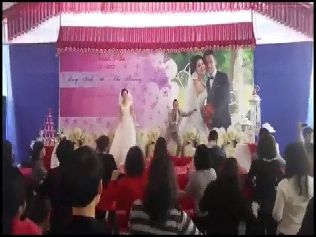 Đám cưới nhảy Zumba cực chất