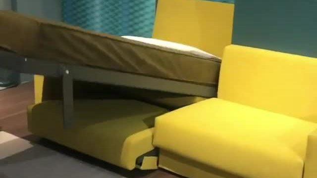 Chiếc sofa linh hoạt, biến thành giường ngủ