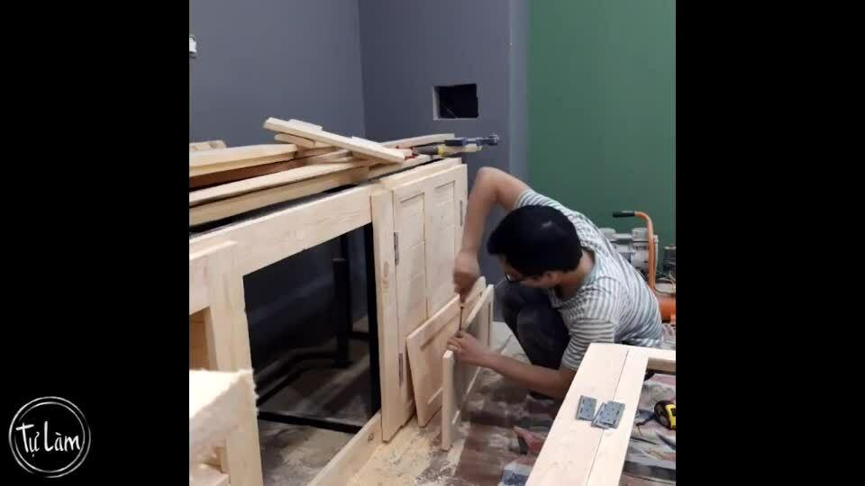 Căn hộ tự đóng nội thất của kiến trúc sư Hà Nội