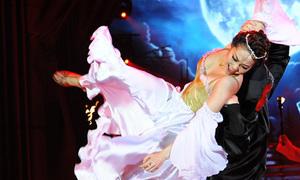 Minh Hằng - Atanas Malamov nhảy Paso Doble