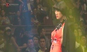 Sưu tập 'Mùa lễ hội' trong chung kết VN's Next Top Model 2012