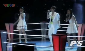 Thùy Anh, Phương Anh, Trung Thành hát 'Every breath you take'