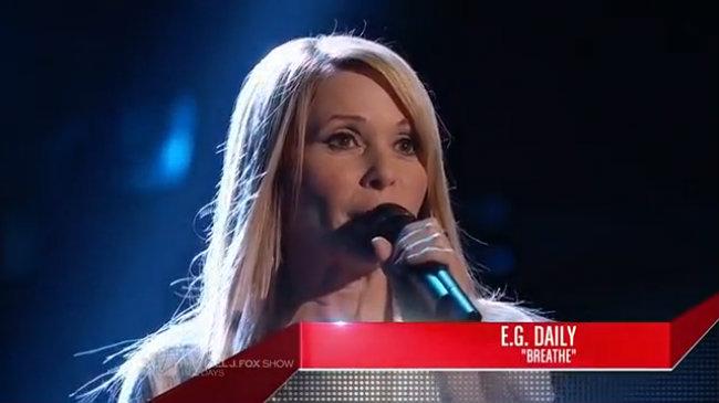 The Voice Mỹ: Breathe - E.G. Daily