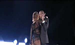 Beyonce và Jay-Z trình diễn tại Grammy 2014
