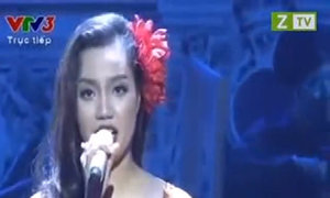 Ngọc Anh hát 'Gypsy song'