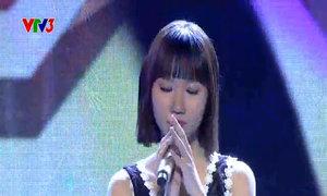 Khương Hoàn Mỹ hát 'Với em là mãi mãi'
