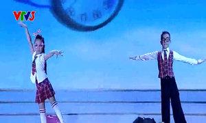 Diễm Quỳnh - Trung Hiếu nhảy Dancesport