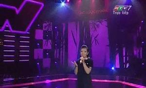 Hồ Ngọc Lan Anh hát 'Cô gái vót chông'