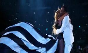 Beyonce và Jay-Z trong tour diễn 'On The Run''