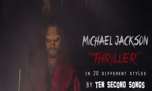 Anthony Vincent cover 'Thriller'