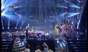 Minh Thư – Minh Trung hát 'Nhan sắc - Alibaba'