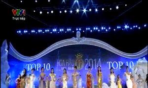 Hoa hậu Việt Nam 2014 - Phần công bố kết quả top 10