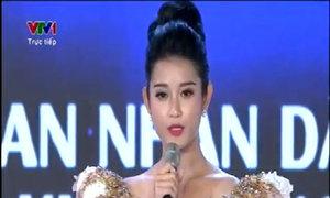 Hoa hậu Việt Nam 2014 - Phần thi ứng xử của Nguyễn Trần Huyền My