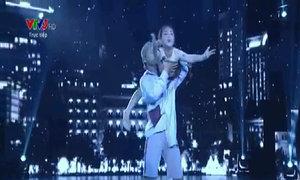 Minh Châu múa đương đại và Dancesport