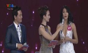 Phần thi ứng xử của thí sinh Nguyễn Thị Loan