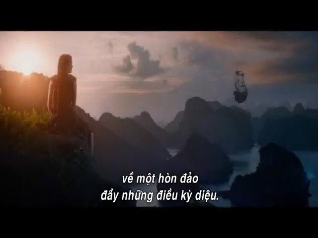 Trailer 'Pan và vùng đất Neverland'