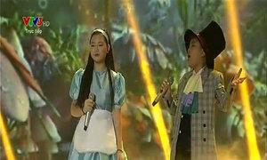 Trúc Nhân - Hà Minh - Tiến Quang hát 'Bác làm vườn và con chim sâu'