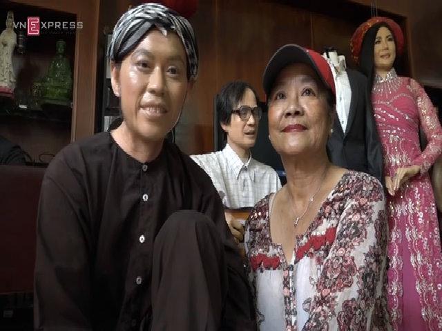 Chân dung nghệ sĩ Việt được làm bằng tượng sáp