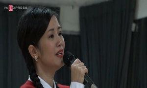 Hồng Nhung hăng say tập luyện cho liveshow tại Hà Nội